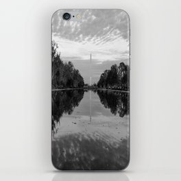 Reflecting Pool- Washington DC iPhone Skin