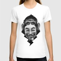 peace T-shirts featuring Anonymous by Dr. Lukas Brezak
