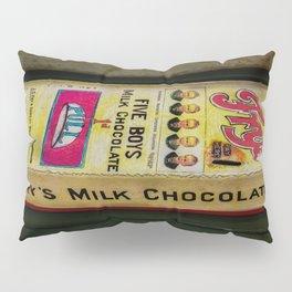 Vintage Chocolate Vending Pillow Sham