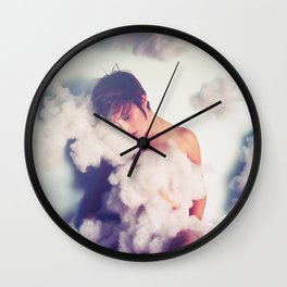 From The Clouds Wall Clock