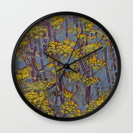 MAGIC DILL WEED Wall Clock