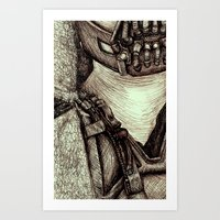 bane Art Prints featuring Bane by Christina Romano
