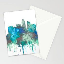 Los Angeles Skyline - SG Jungle Stationery Cards