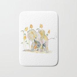 Baby Elephant 3 Bath Mat