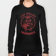 Los Pollos Hermanos vintage ( Breaking Bad ) Long Sleeve T-shirt