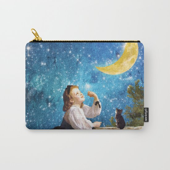 One Wish Upon the Moon Carry-All Pouch