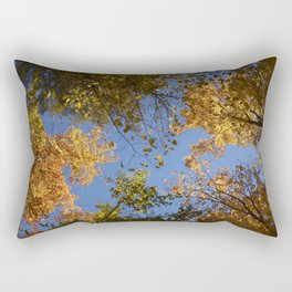 trees in the air Rectangular Pillow