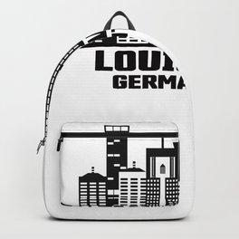 Louisville Germantown Kentucky Skyline Backpack