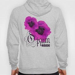 Purple Poppy Hoody