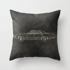 Supernatural: Impala Throw Pillow