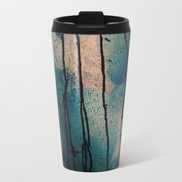 Blue spheres and tears III Travel Mug