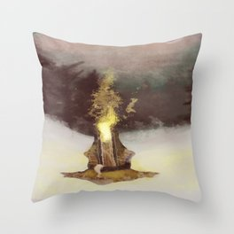 Product of the mind Throw Pillow