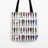 zayn malik Tote Bags featuring 22 Zayn Malik by justsomestuff