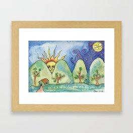 Whimsical World Framed Art Print
