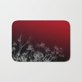 Tree Top-Red Bath Mat