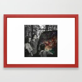 Look Into Natures Universe Framed Art Print
