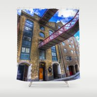 victorian Shower Curtains featuring Victorian London by David Pyatt
