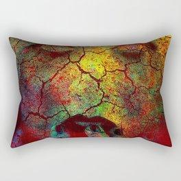 Crack of a woman Rectangular Pillow