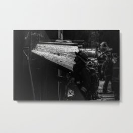 Water and Soot Metal Print