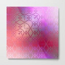 Summer of Retro (pretty pink) Metal Print