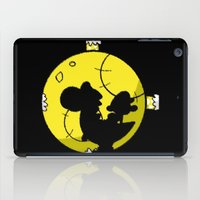 mario bros iPad Cases featuring Yoshi and Baby Mario ( super mario bros ) by TxzDesign