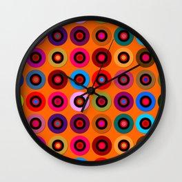 IC #3 Orange Theory Wall Clock