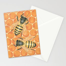 Honeybees Stationery Cards