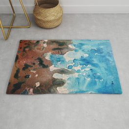 Water and Sand is Where I Want to Be Rug