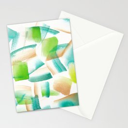 180719 Koh-I-Noor Watercolour Abstract 14| Watercolor Brush Strokes Stationery Cards