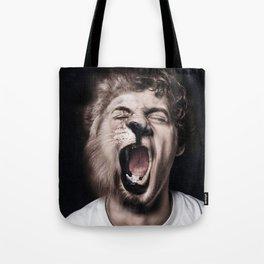 Animorph-Lion Tote Bag