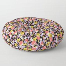 Floral Haze Floor Pillow