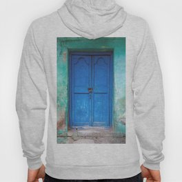 Blue Indian Door Hoody