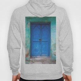 Blue Indian Door Hoody