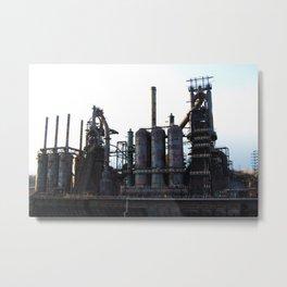 Bethlehem Steel Blast Furnaces 2 Metal Print