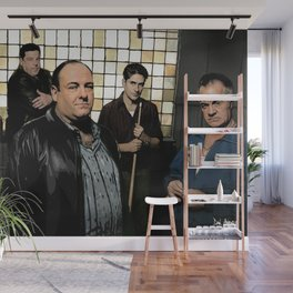 The Sopranos Wall Mural