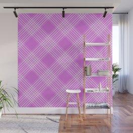 Purple Pattern Design Wall Mural