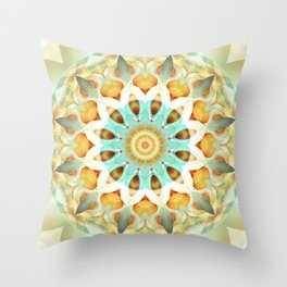 Mandala soft touch Throw Pillow