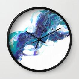 She Rises Wall Clock