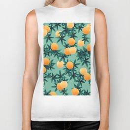 Orange Twist Vibes #1 #tropical #fruit #decor #art #society6 Biker Tank