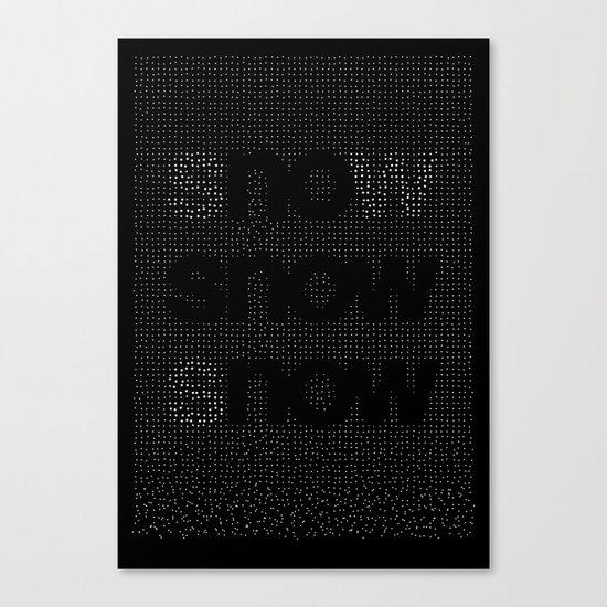 no snow now Canvas Print