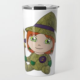 Little Witch Doll Travel Mug