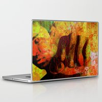 "ali gulec Laptop & iPad Skins featuring Cassius ""Ali"" by Joe Ganech"