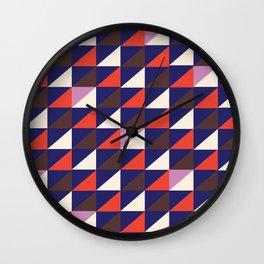 Triangle Mountain Wall Clock