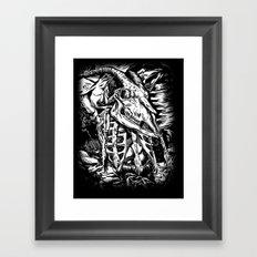 GOREHOUND Framed Art Print