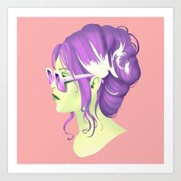 Bridget Bardot Art Print