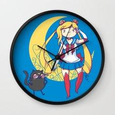 Adventure Moon Wall Clock
