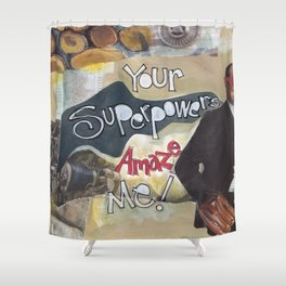 Superpower Shower Curtain