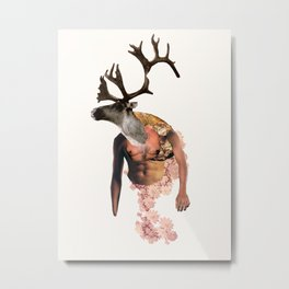Tough Moose Metal Print