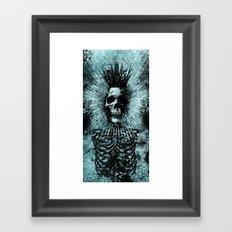 Death King Framed Art Print