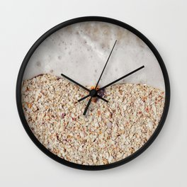 Florida beach seashell Wall Clock